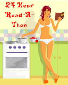 24 Hour Read a Thon Girl
