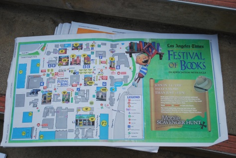 L.A. Times Festival Map