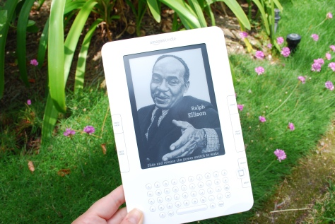 Photo of the Kindle