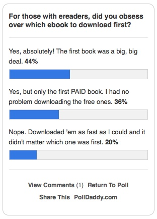 Kindle Survery Results