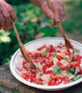 Cucina Povera's Bread Salad
