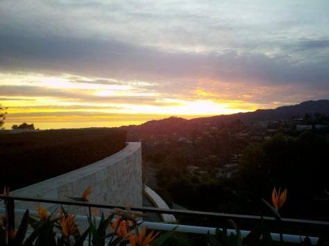 Getty Sunset