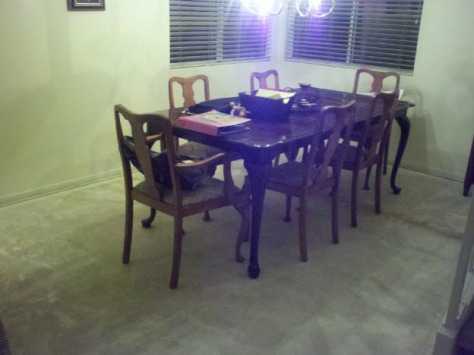 Dining Room - No Carpet