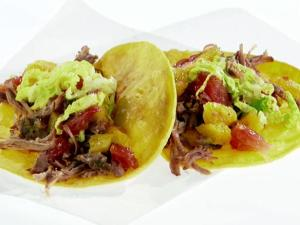 Pulled Pork Tacos w/Citrus Salsa