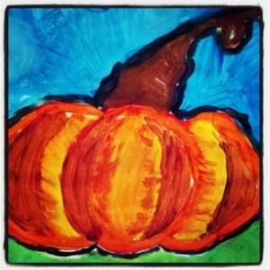 Pumpkin Painting 2012