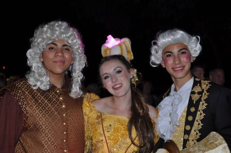 Cogsworth, Belle and Lumiere