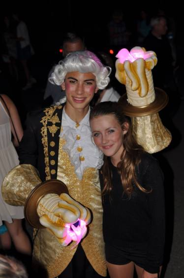 Lumiere and a fellow cast member