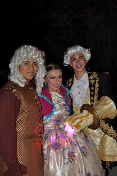 Cogsworth, Mrs. Potts and Lumiere (Taken by Crystal Moore)