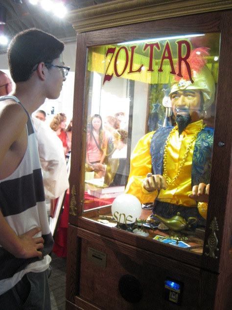 The Boy and Zoltar