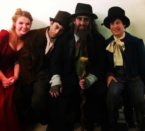 Nancy, Bill (The Teen), Fagin and Dodger