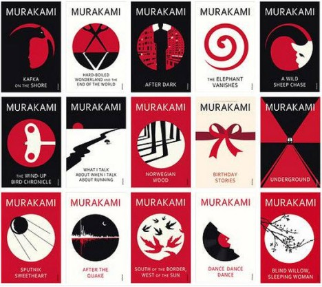 New Murakami Covers