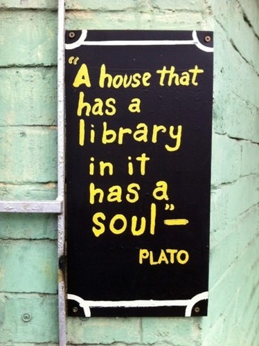 Plato on libraries