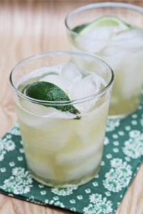 Mint infused limeade