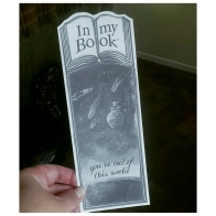 In My Book Bookmark/Card