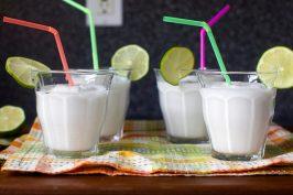 Frozen Coconut Limeades