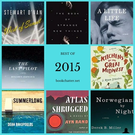 Book Chatter's Best of 2015
