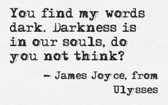 Quote from Ulysses by James Joyce