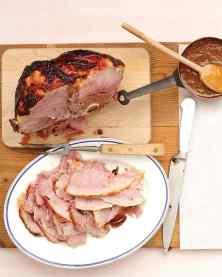 Apricot & Mustard Glazed Ham
