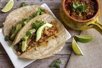 Slow Cooker Port Tacos