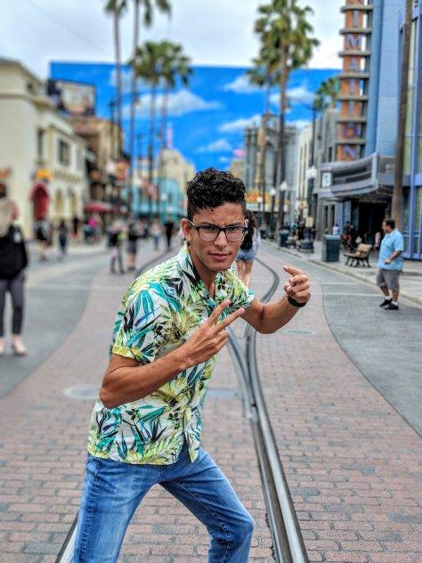 Evan at California Adventure.