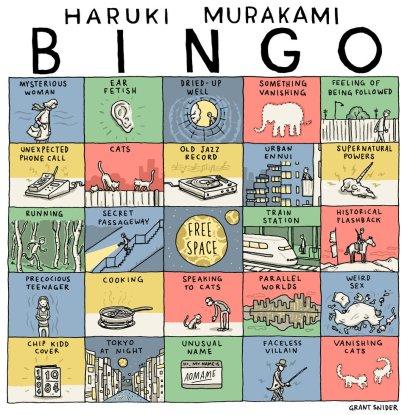 Murakami Bingo Card