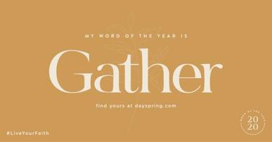 Gather - One Word