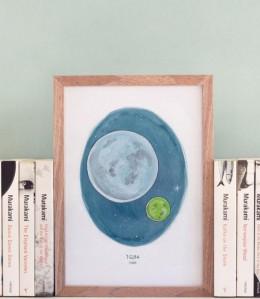 Murakami Art Print