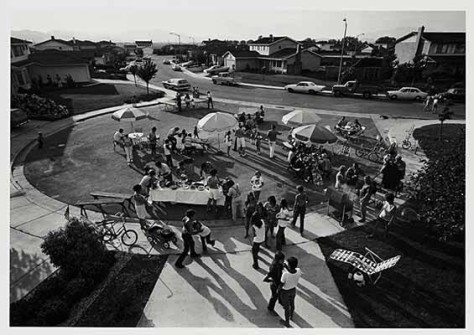 Bill Owens, Fourth of July Block Party, 1972