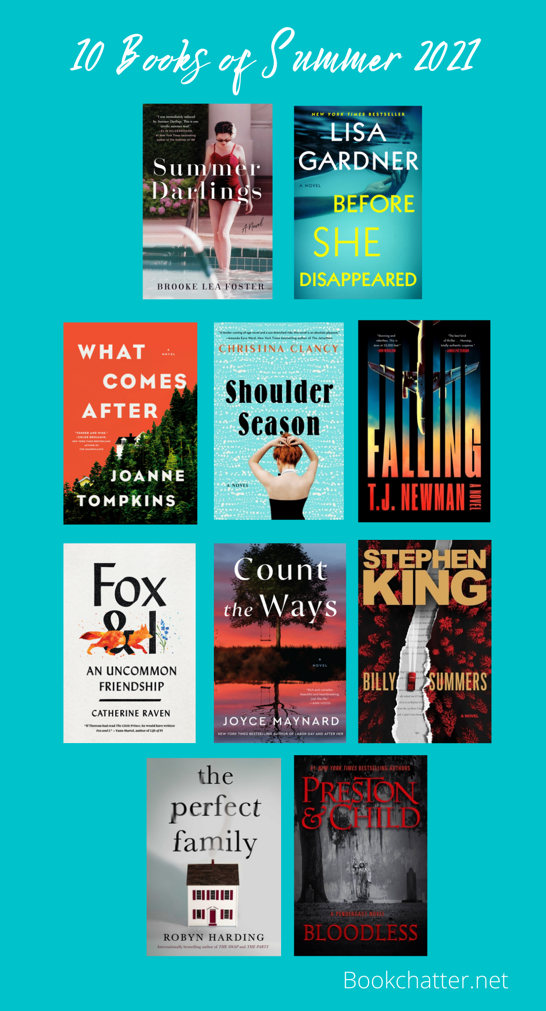 10 Books of Summer 2021 - Book Chatter