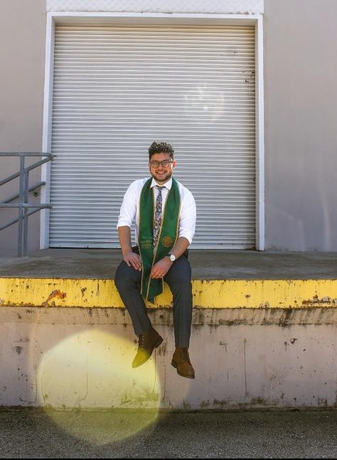 Evan the Graduate.
